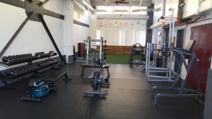 Bk fitness center inside